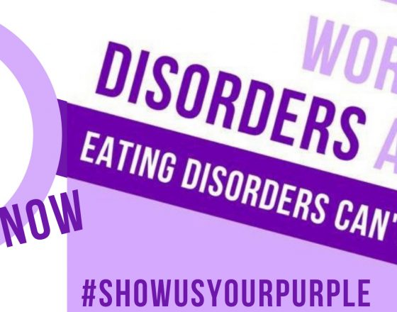 It's time to be visible, be loud, be a nuisance about eating disorders