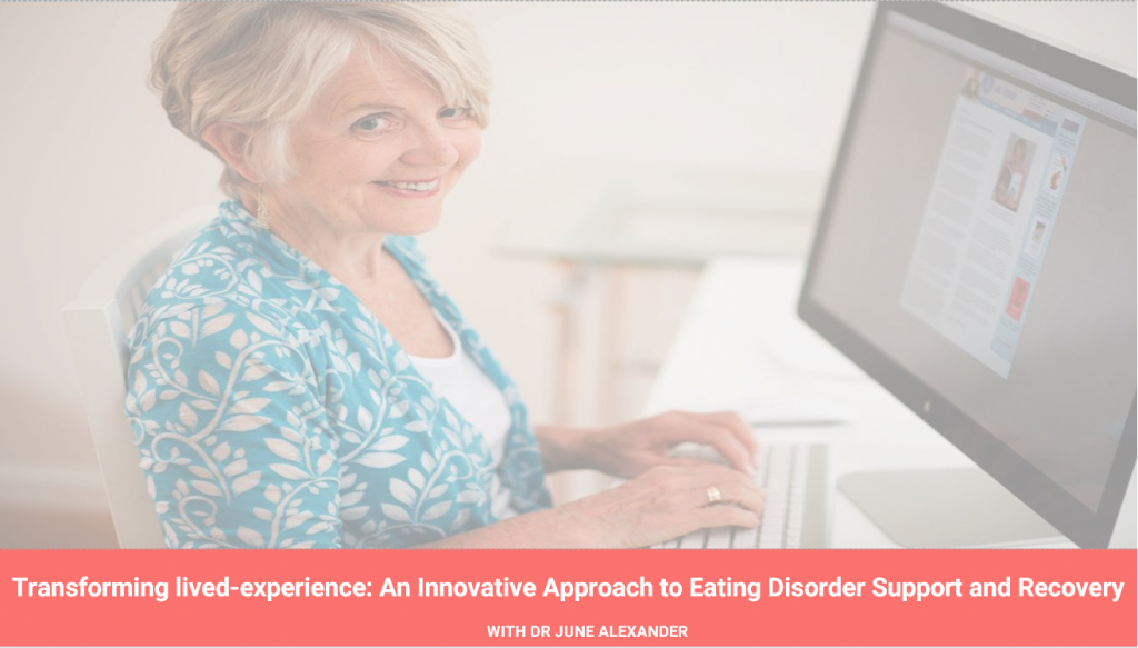 Transforming lived-experience into peer support – an innovation in eating disorder recovery